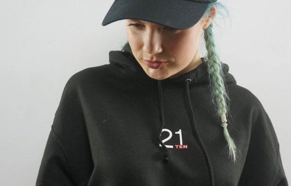 21TEN Baseball Cap – Black (Women's)