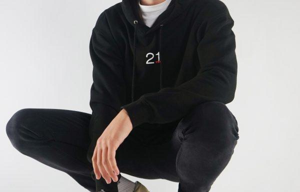 21TEN Hoodie – Black (Men's)